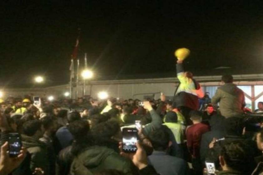 3. havalimanında isyan eden işçilerin talepleri kabul edildi
