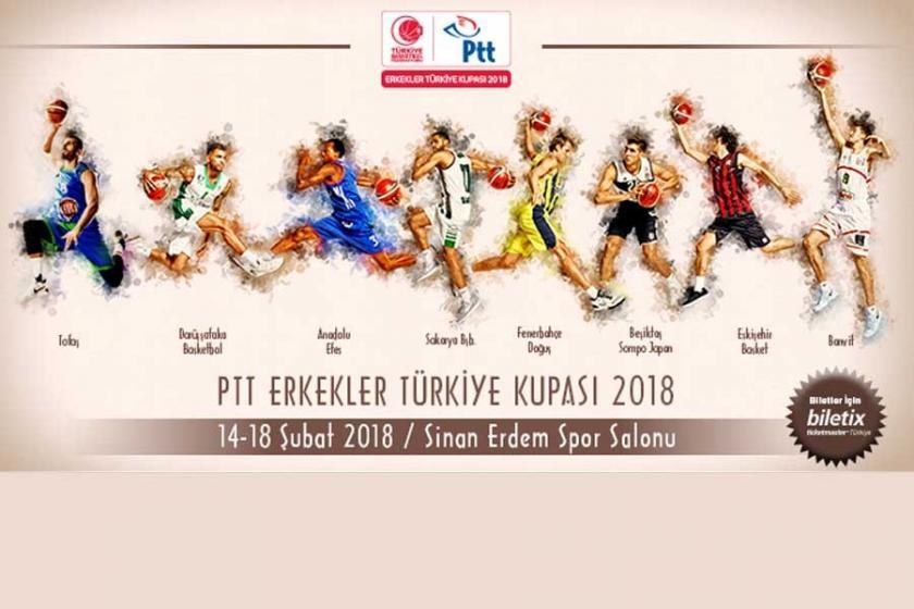 PTT Erkekler Türkiye  Kupası başlıyor