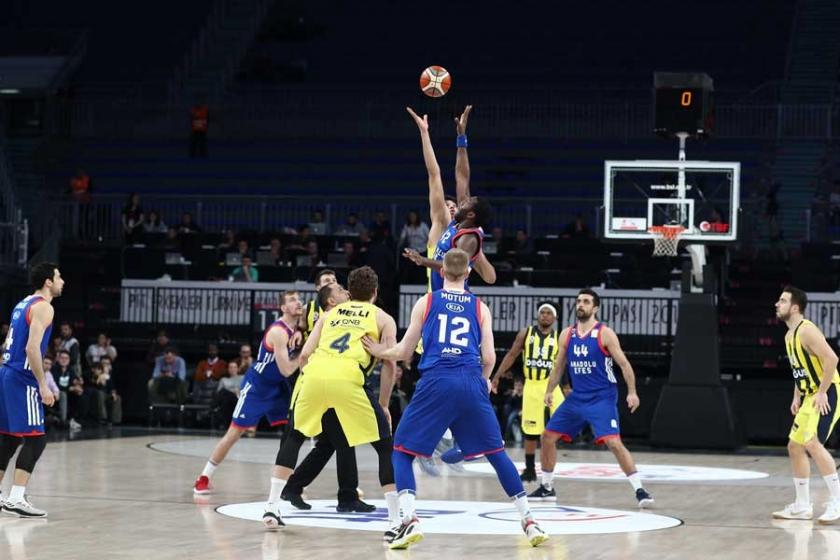 Anadolu Efes, Fenerbahçe Doğuş'u kupadan eledi