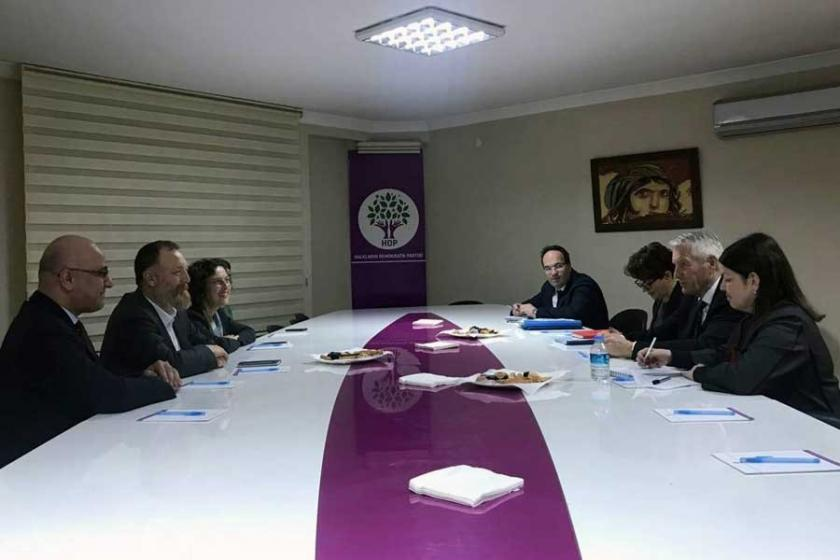 Avrupa Konseyi'nden HDP'ye ziyaret