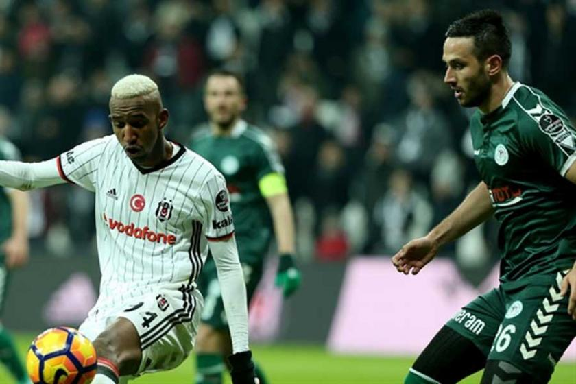 Beşiktaş şampiyonluk Konyaspor küme düşmeme peşinde