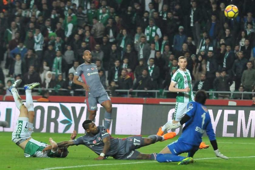 Beşiktaş Atiker Konyaspor ile 1-1 berabere kaldı
