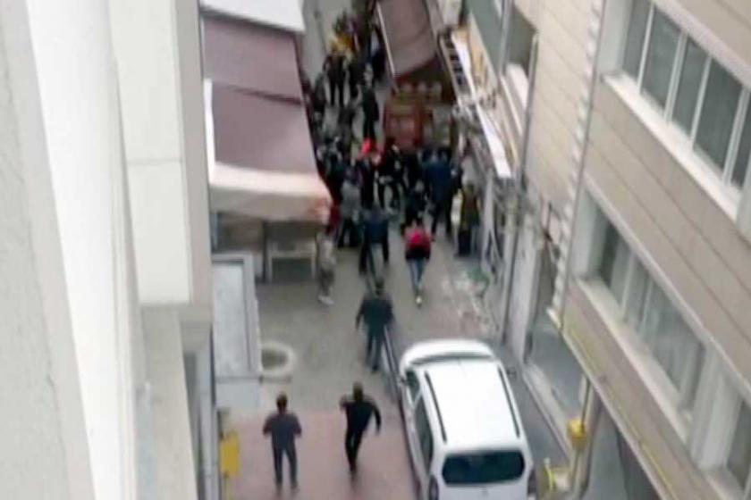 Samsun'da TKP'lilere saldırı
