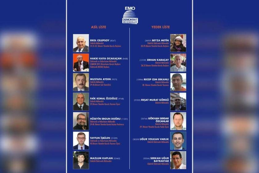 EMO İstanbul Şube seçimlerini Demokrat Mühendisler kazandı