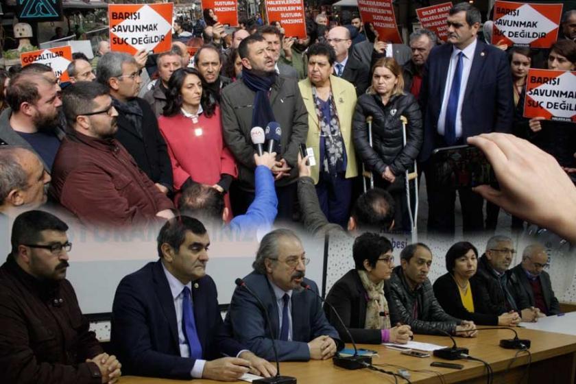 Halkevlerine 'barış' operasyonu: 18 gözaltı kararı