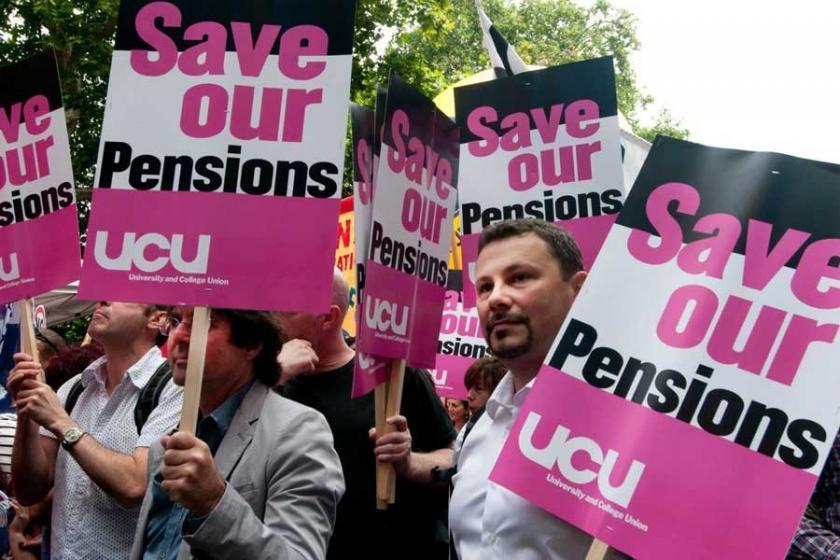 Birleşik Krallık'ta yüksek öğrenimde büyük grev