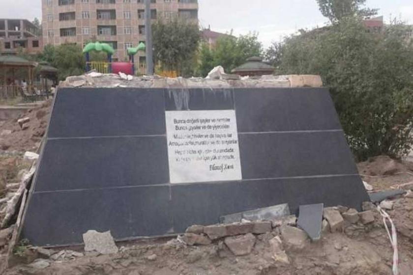 Ehmedê Xanî heykeli 8 aydır dikilmedi