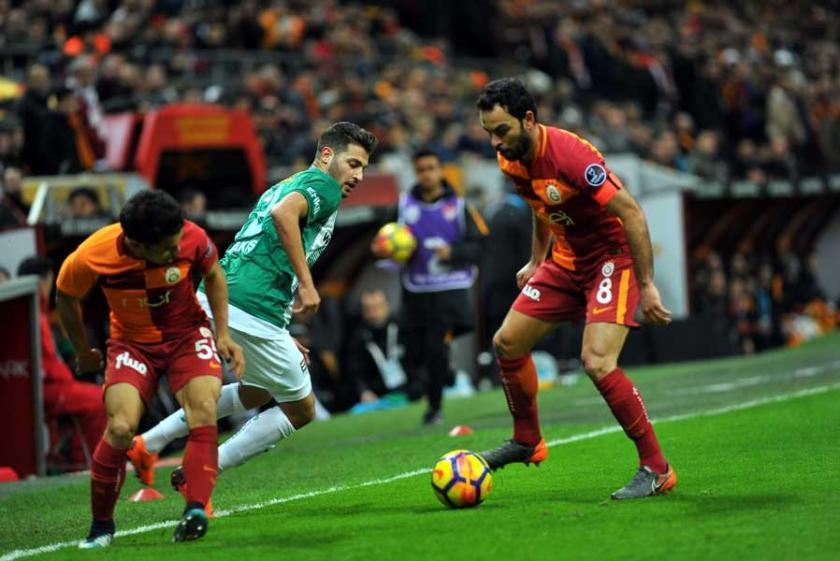 Galatasaray, Bursaspor'u 5 golle geçti