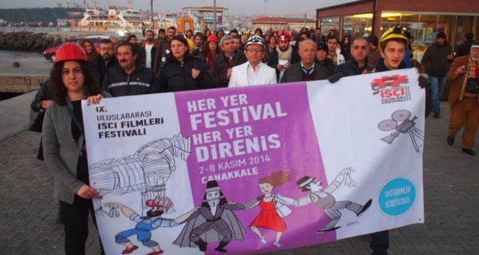 İşçi Filmleri Festivali Çanakkale'de