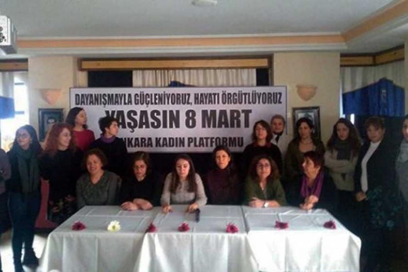 Ankara'da kadınlardan OHAL ve savaşa karşı 8 Mart'a çağrı