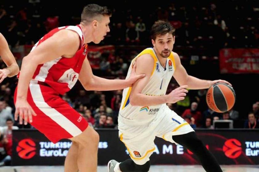 Euroleague'de Şubat ayı MVP'si Alexey Shved oldu