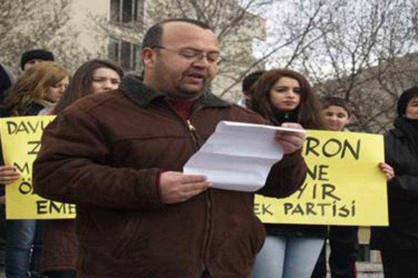Lüleburgaz'da EMEP ilçe yöneticisi Cengiz Atlı'ya tutuklama