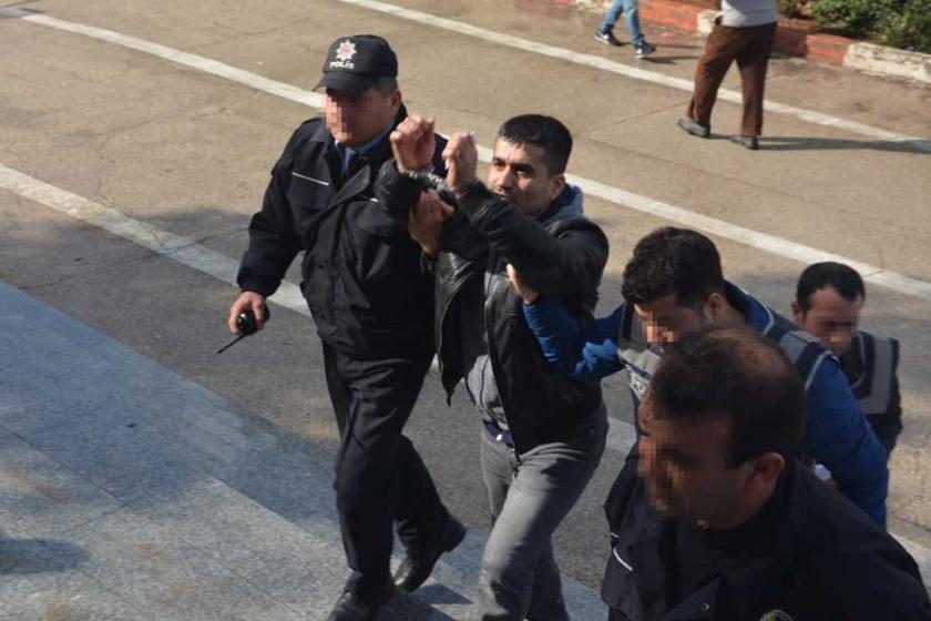 Taciz ve tehditten bırakıldı, 'Erdoğan'a hakaret'ten tutuklu