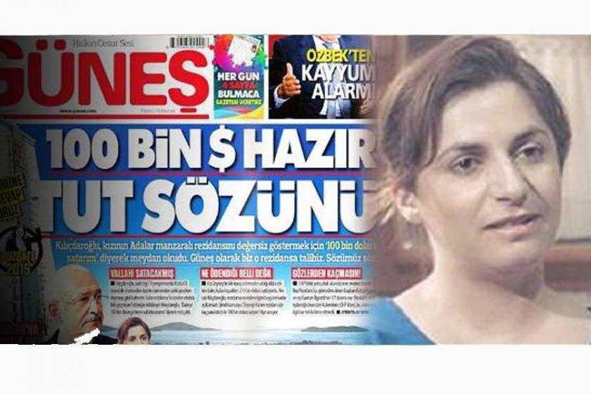 Zeynep Kılıçdaroğlu'nun dairesi, Güneş gazetesine satıldı