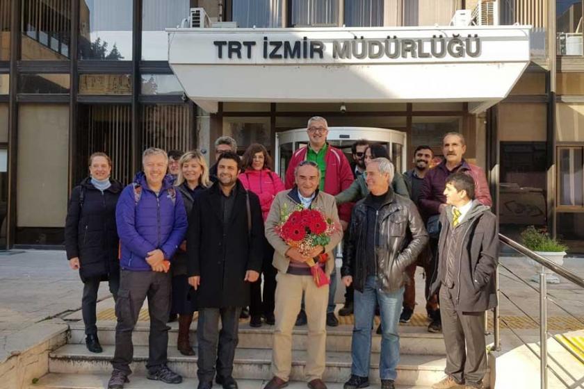 Binali Erdoğan TRT'deki görevine başladı