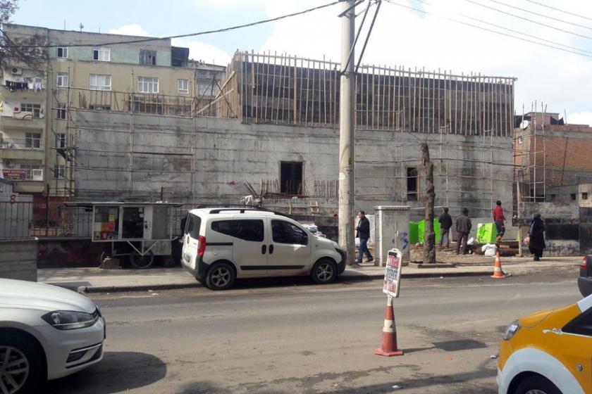 Yıkılan sağlık ocağının yerine 2. mahalle karakolu yapılıyor
