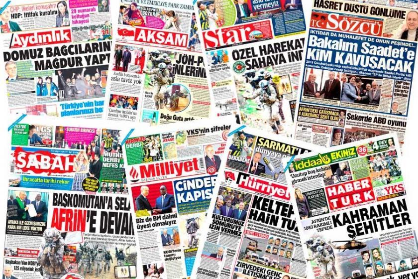 Economist: Türkiye medyası Afrin'i doğru anlatmıyor