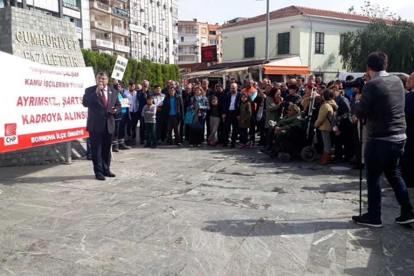 Belediye işçilerinden hükümete kadro düzenlemesi çağrısı