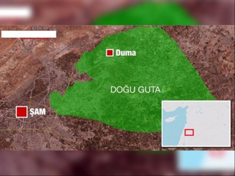 Doğu Guta'daki cihatçı gruplar tahliye önerisini reddetti