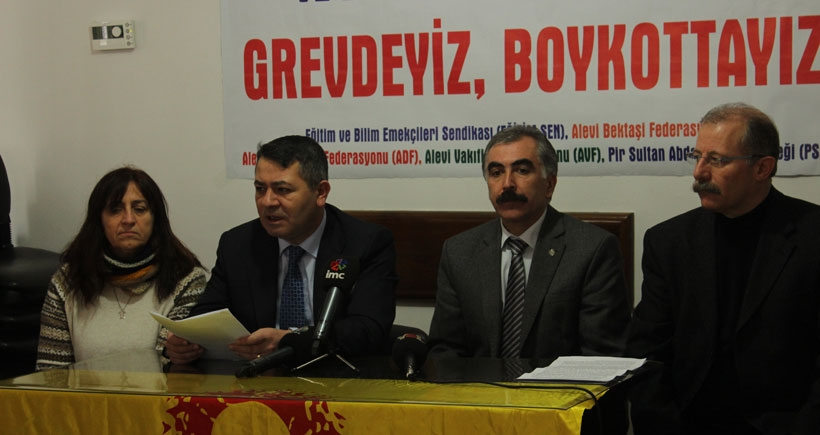 'Ötekileştirmeye ve ayrımcılığa karşı boykottayız'