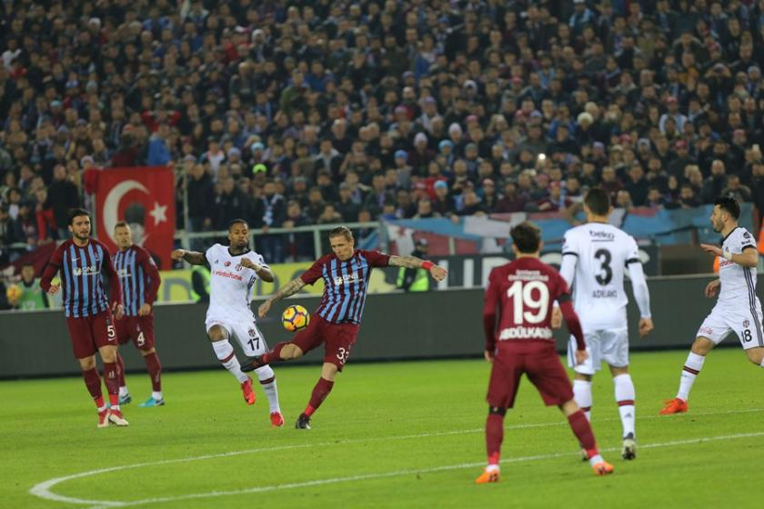 Beşiktaş, Trabzon'dan 3 puanla döndü