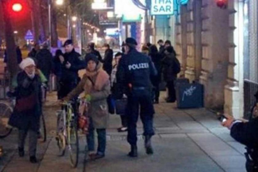Viyana'da bıçaklı saldırı