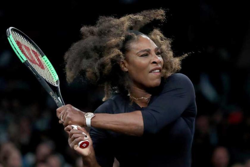 Kortlara dönen Serena Williams'tan 8 Mart vurgusu