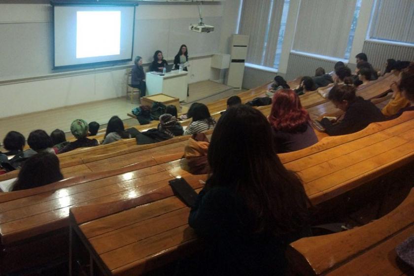 ODTÜ'de 'Türkiye'de kadın mücadelesi' paneli