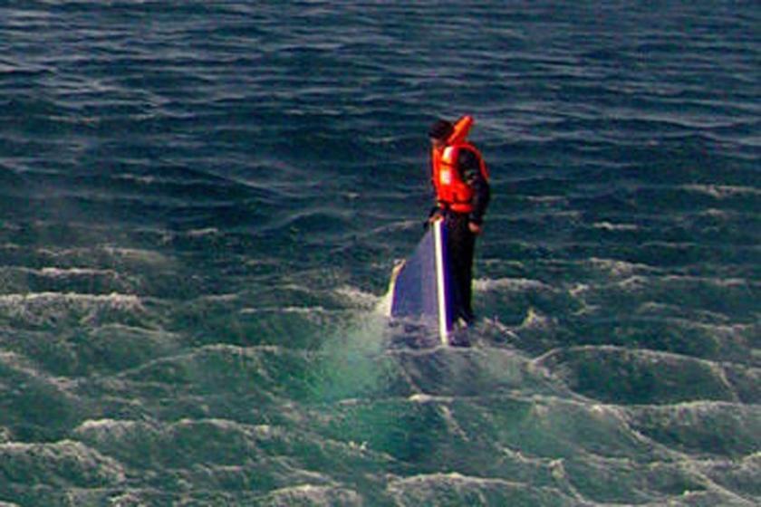 Teknenin ucundan yaşamın kıyısına