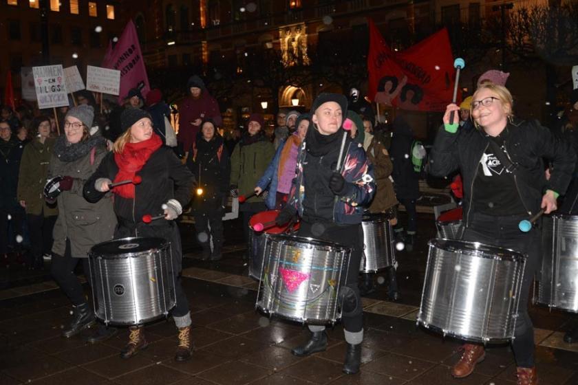 İsveç'te 8 Mart kutlamaları