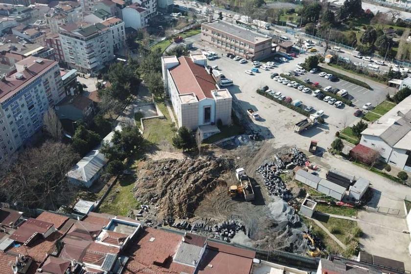 Şişli'de İSKİ binaları yıkılacak yerine kent parkı yapılacak