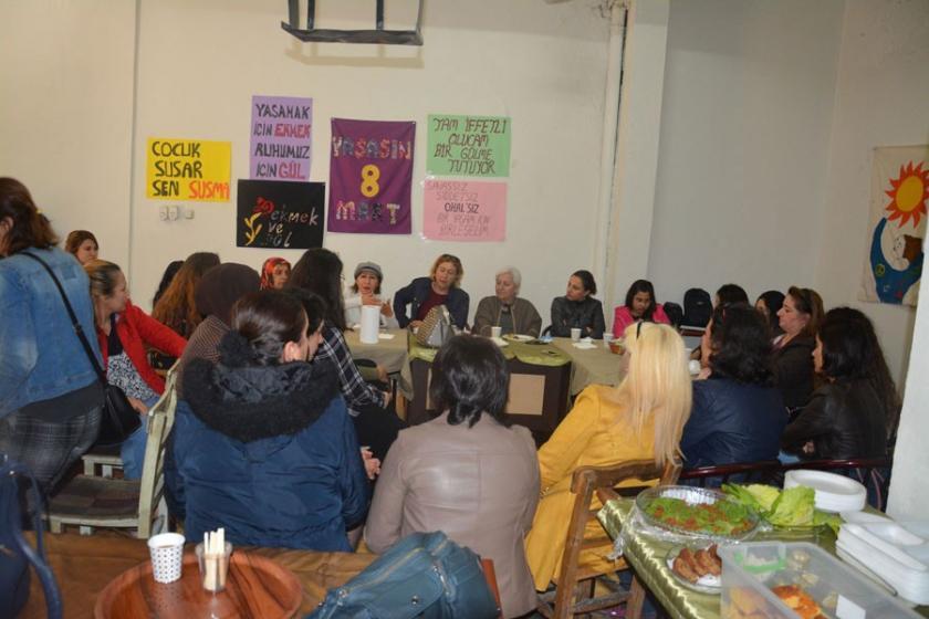 Kadınlar 8 Mart etkinliklerinde bir araya geldi