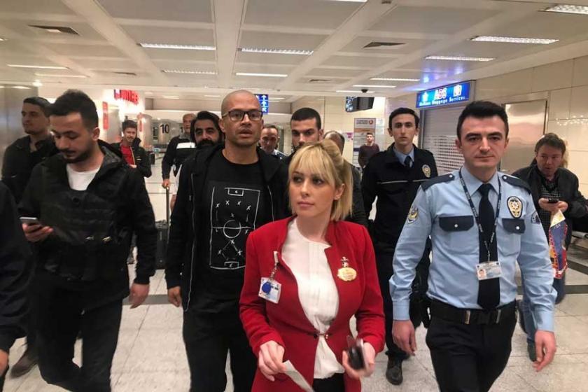 Alex de Souza, İstanbul'a geldi
