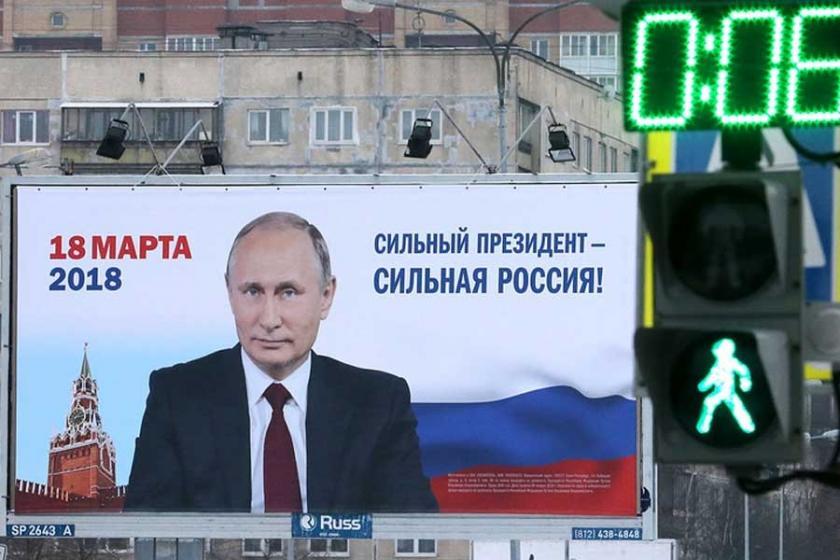 Putin seçimlerde rahat, gerçek bir alternatif yok