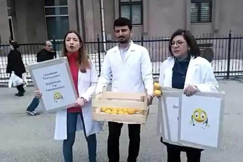 KHK ve soruşturmalarla işsiz kalan hekimler 'Limon sattı'