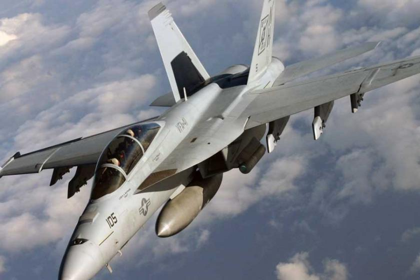 ABD'ye ait bir savaş uçağı okyanusa düştü
