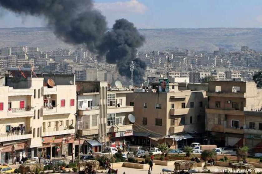 Afrin'de sivil ölümleri endişesine karşı çağrı yapıldı