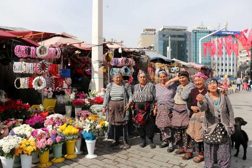 Taksim'deki çiçekcilerden 'Atılıyoruz' tepkisi