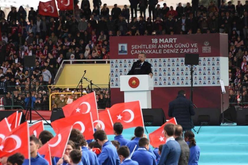 Erdoğan: Afrin'de Türk ve ÖSO bayrağı dalgalanıyor