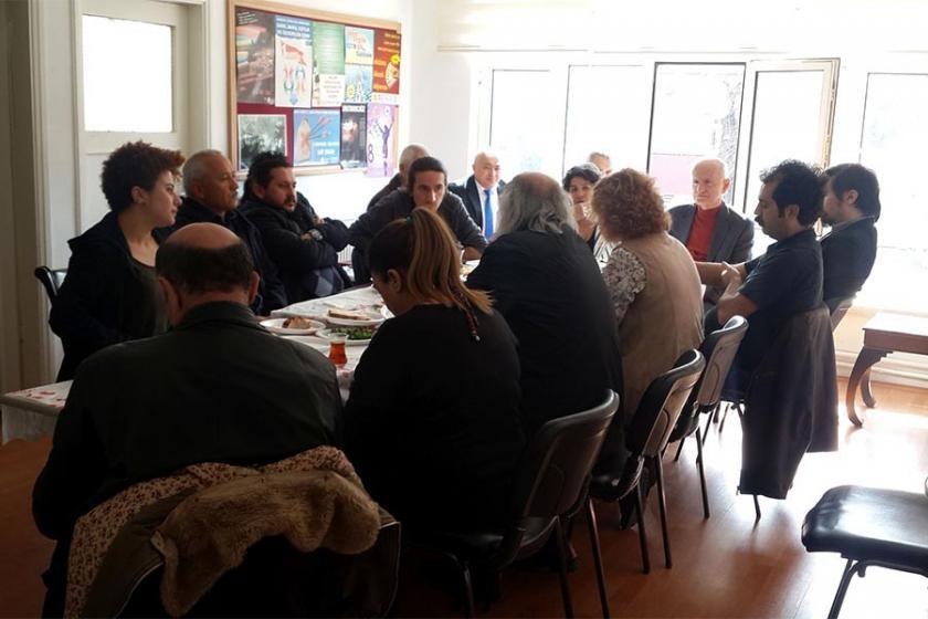 Keçiören'de emek ve demokrasi güçleri kahvaltıda buluştu