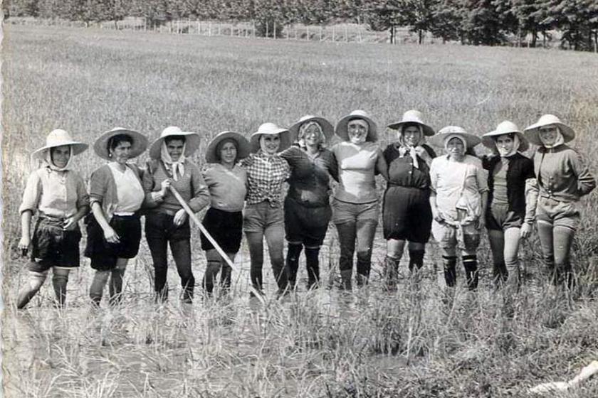 İtalya'da faşizme kafa tutan pirinç işçisi kadınlar