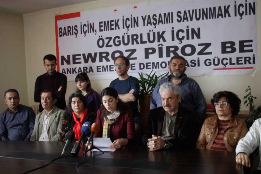 'Emek, barış ve özgürlük şiarıyla Newroz'a'