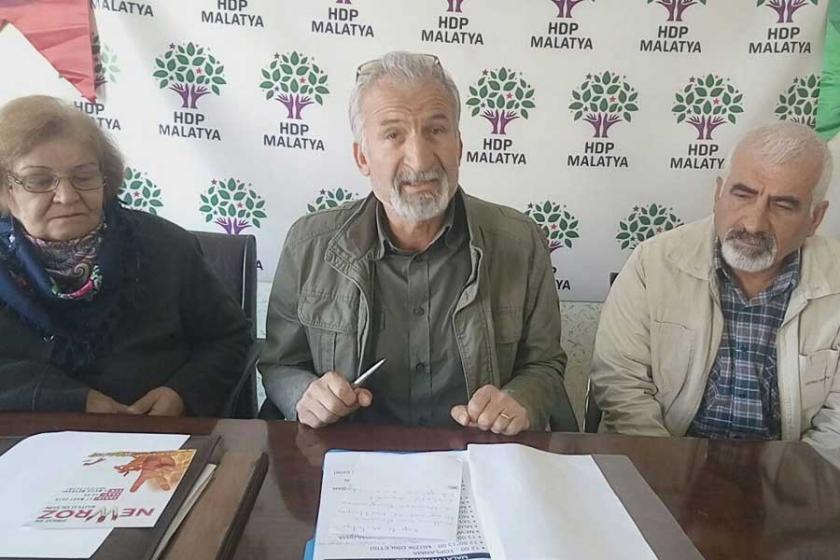 Malatya'da Newroz mitingine çağrı