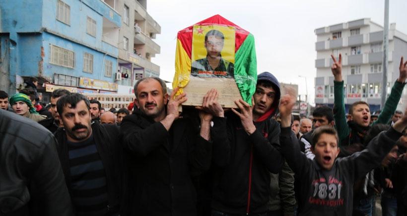 YPG'li Atak'ın cenazesi toprağa verildi