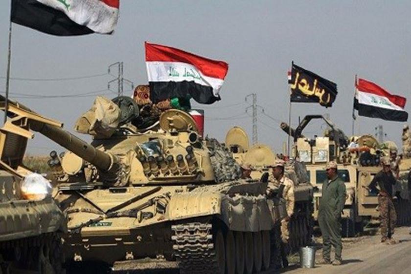 Irak ordusundan Rojava ve Şengal sınırlarına büyük yığınak