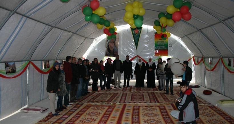 Kobanêliler için okul ve kültür merkezi açıldı