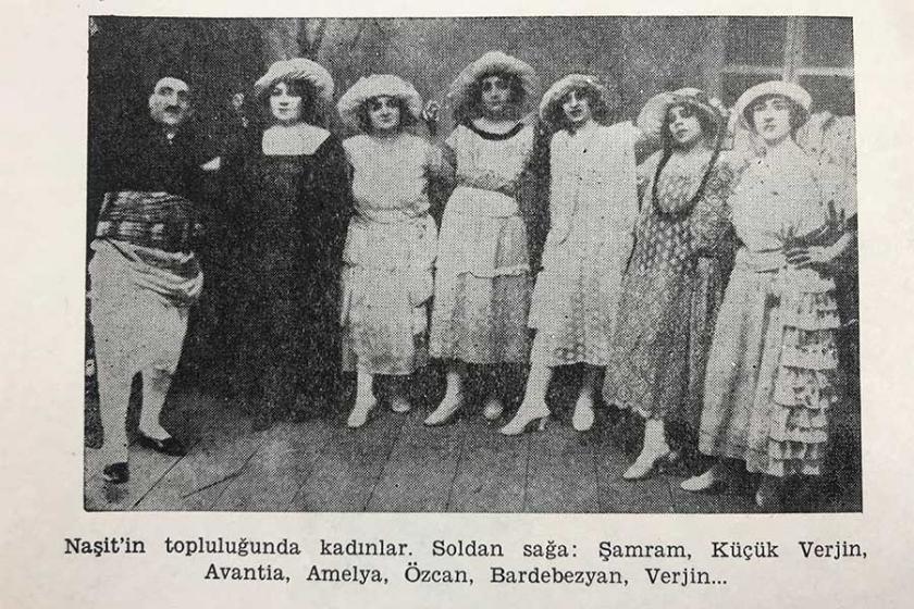 Sahne ile kadınların arasına örülen duvar un ufak edildi