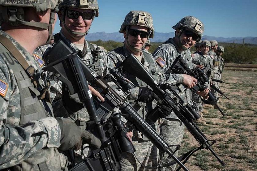 'ABD'li askerler, büyük bir savaşa gireceklerinden emin'