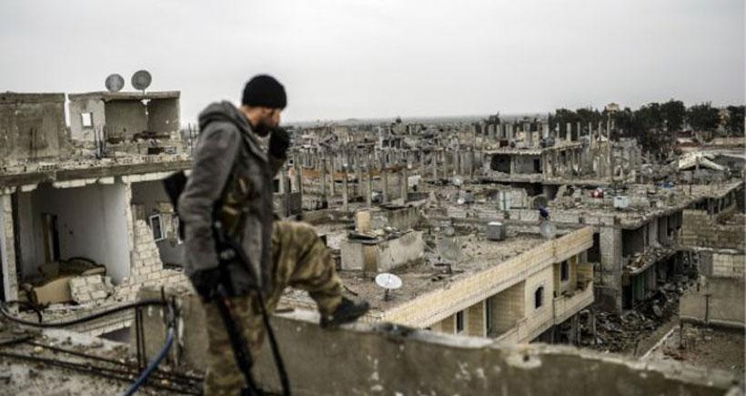 BM'den Kobanê'de hasar tespiti