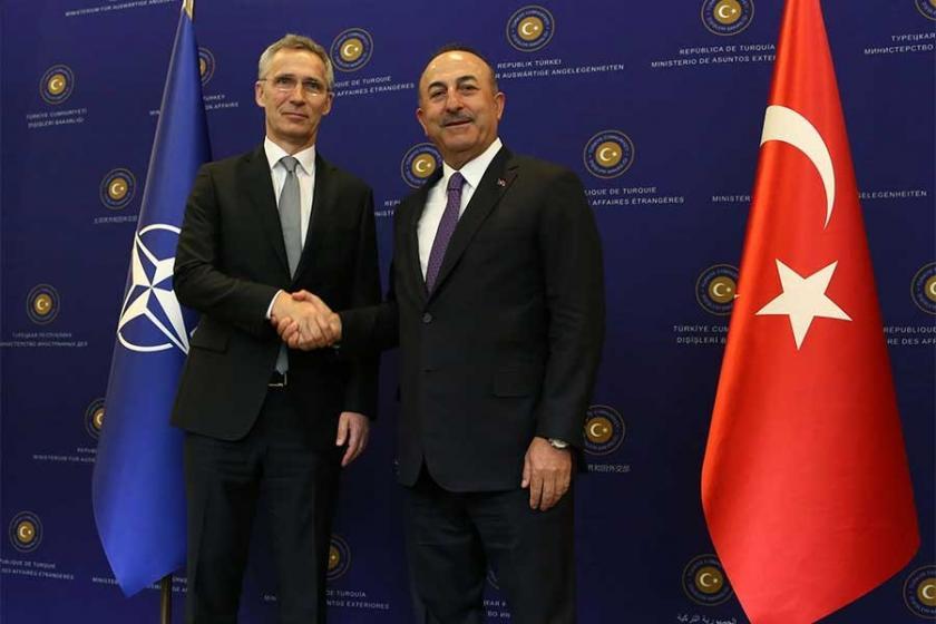 Mevlüt Çavuşoğlu ve NATO Genel Sekreteri Stoltenberg telefonda görüştü